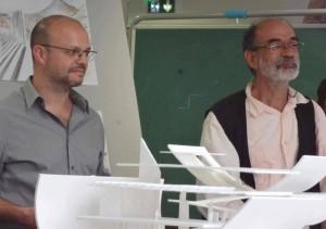 Enseñando en la ENSA de París - Belleville con Lorenzo Piqueras, 2014.